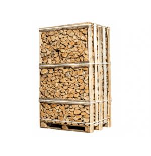 Pallet ovengedroogd berken haardhout