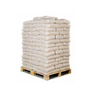 98 zakken witte pellets