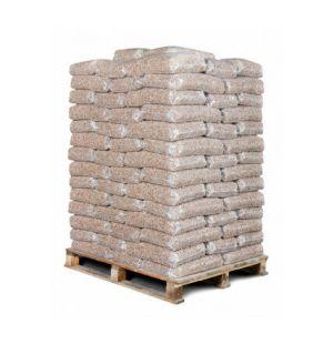 98 zakken bruine pellets