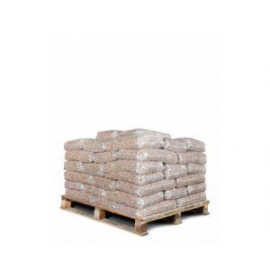 50 zakken bruine pellets