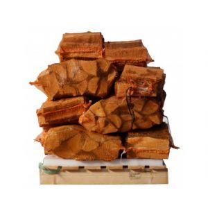 15 zakken ovengedroogd eikenhout