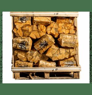 40 zakken ovengedroogd eikenhout