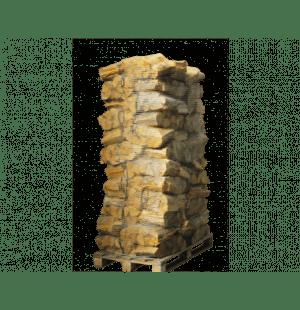 80 zakken ovengedroogd eikenhout